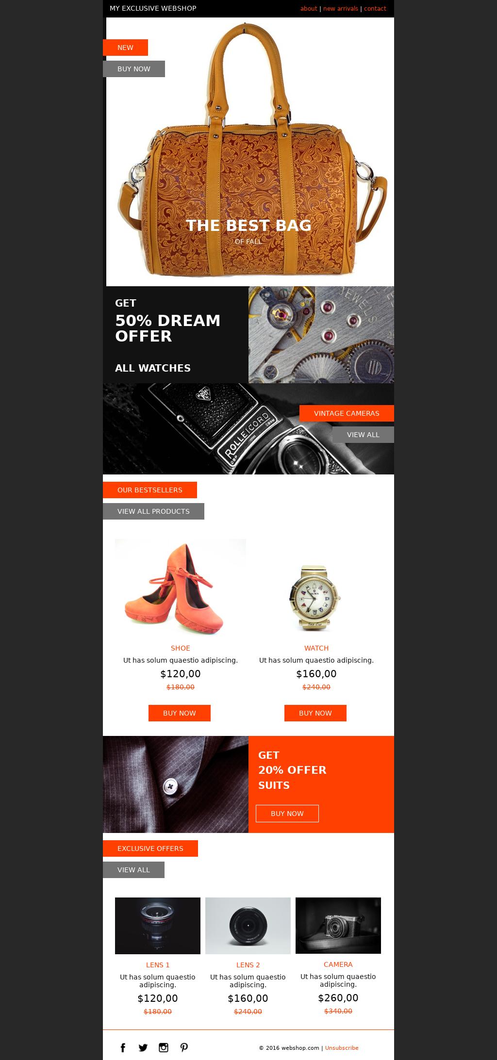 B2B E-commerce Promotional Newsletter