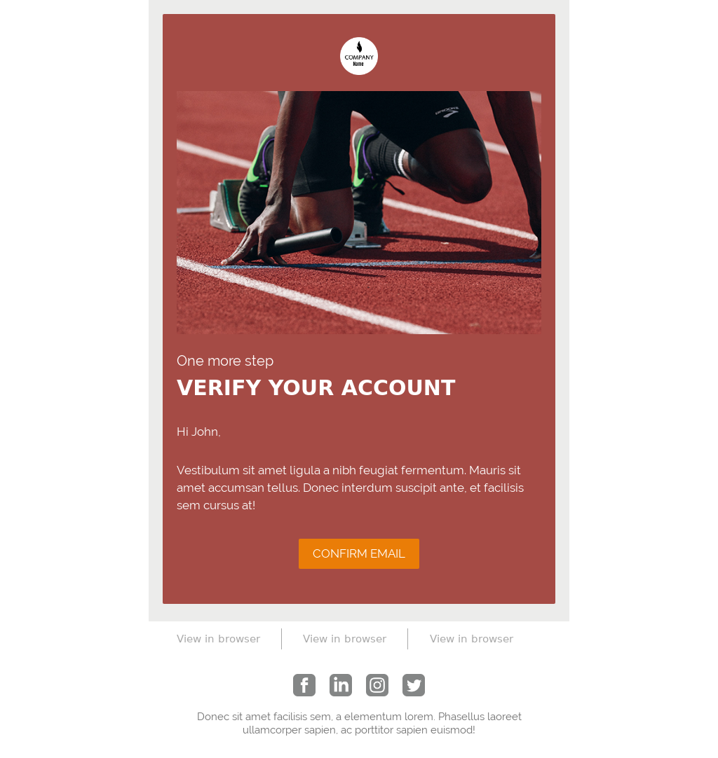 Just Send It Ecommerce Template Pack - Double Optin
