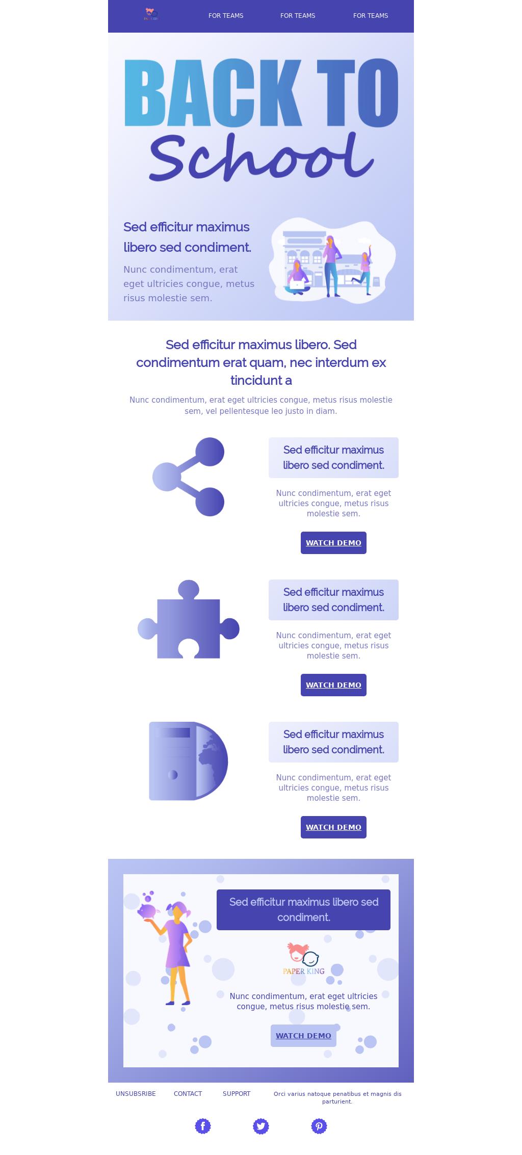 SaaS Multipurpose Campaign 2019